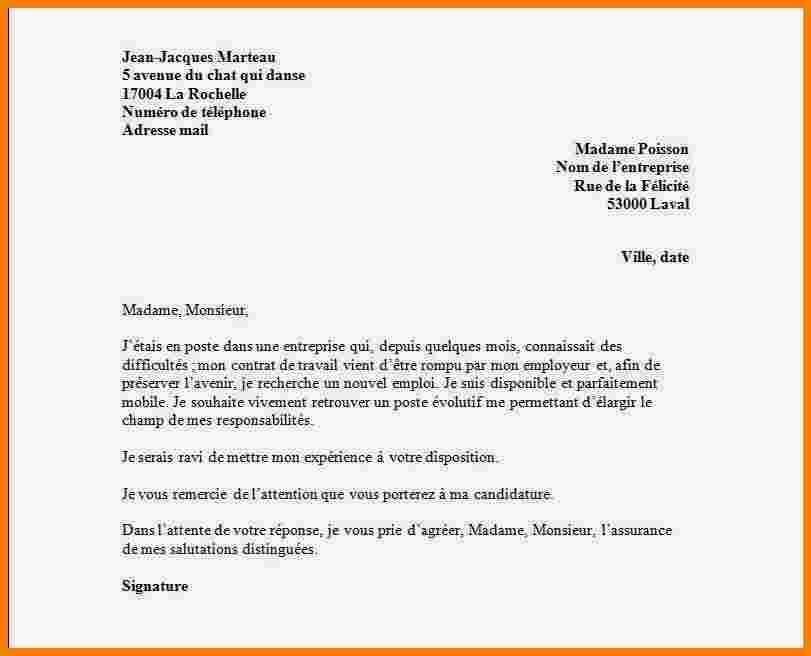 lettre de motivation pour une caissiere