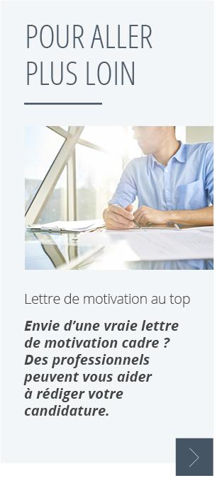 lettre de motivation repostuler dans une entreprise