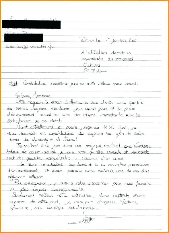 lettre de motivation stage caissiere - Modele de lettre type