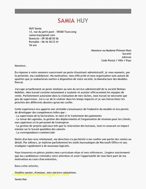 lettre de motivation stage juriste droit social - Modele ...