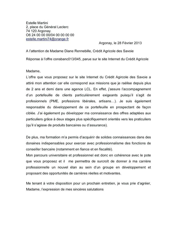 lettre de presentation comptable
