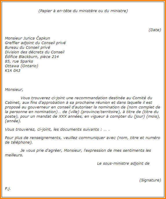 lettre de reclamation administrative