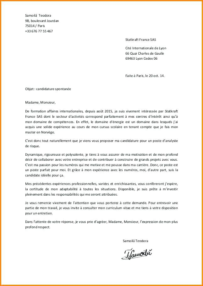 lettre de reclamation gratuite