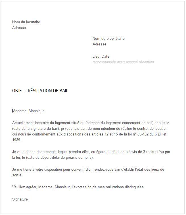 lettre de refus de mutation