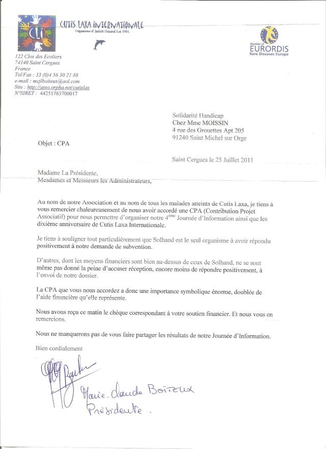 lettre de remerciement avocat