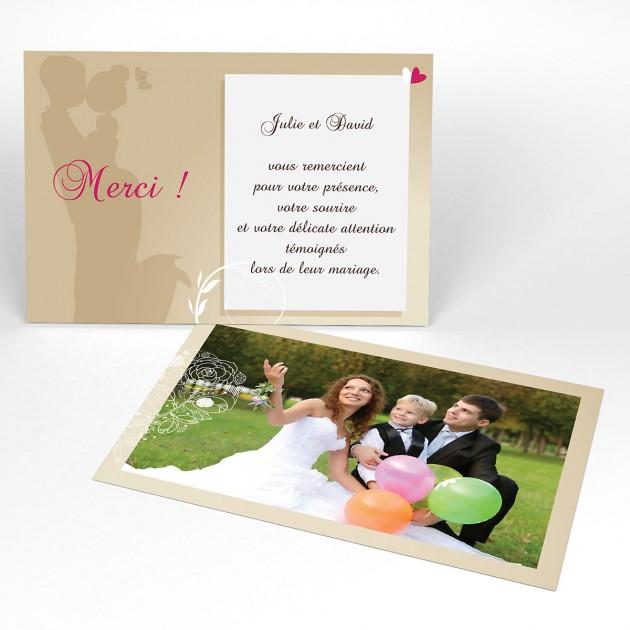 lettre de remerciement pour invitation mariage