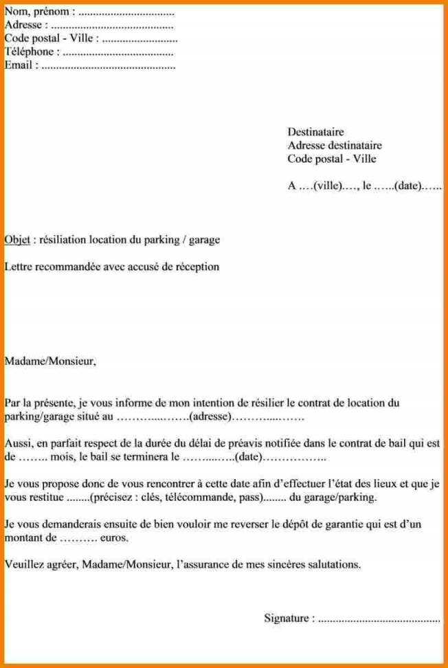 lettre de reservation d appartement - Modele de lettre type