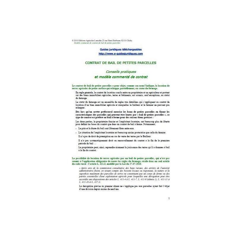 lettre de resiliation appartement location
