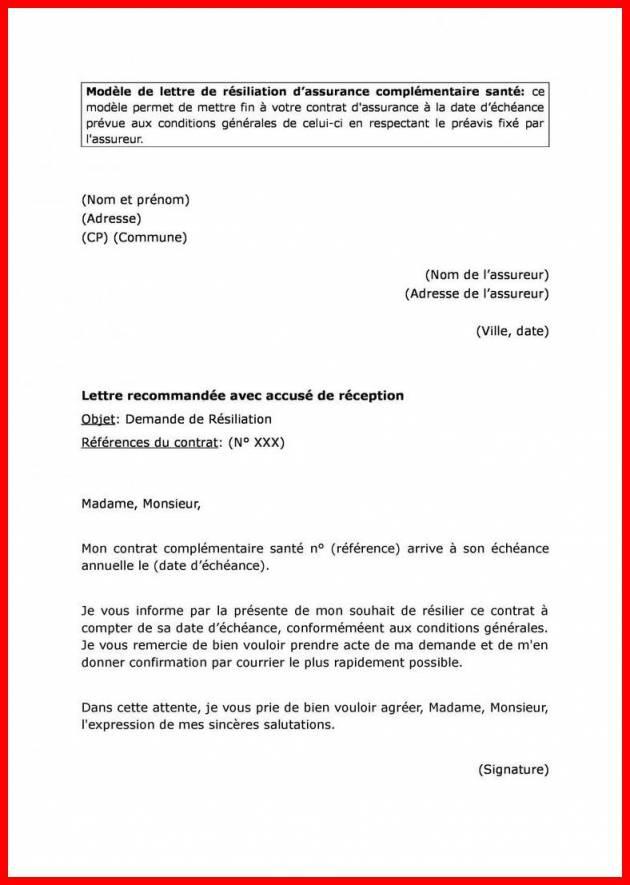 lettre de resiliation sfr box gratuite - Modele de lettre type