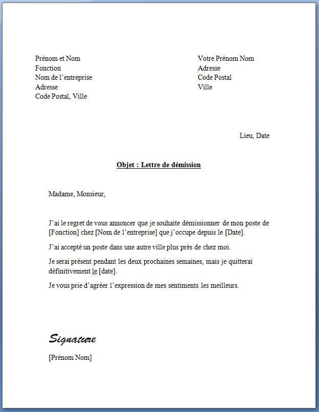 lettre de rupture contrat assistance maternelle