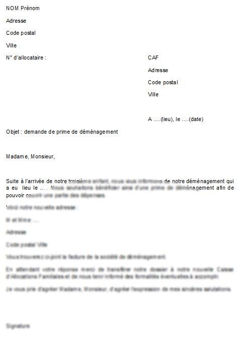 lettre de sollicitation exemple