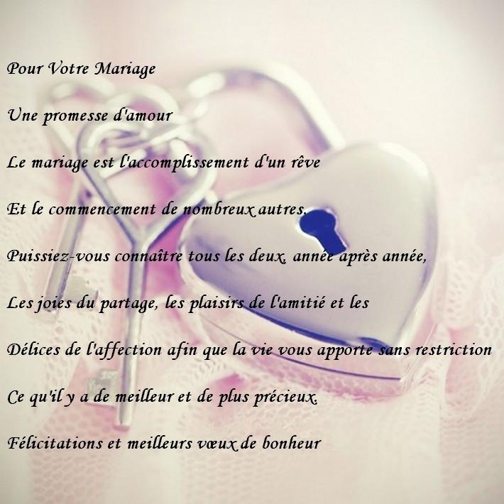 lettre de voeux mariage gratuit