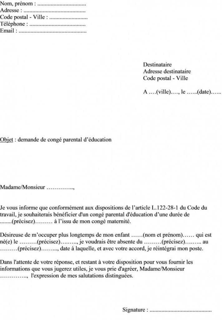 lettre declaration de grossesse employeur