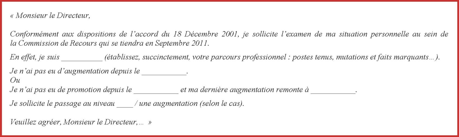 lettre demande d augmentation salaire gratuite
