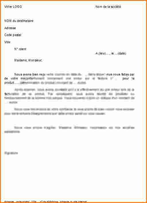 lettre demande d excuse