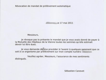 lettre denonciation mandat de vente