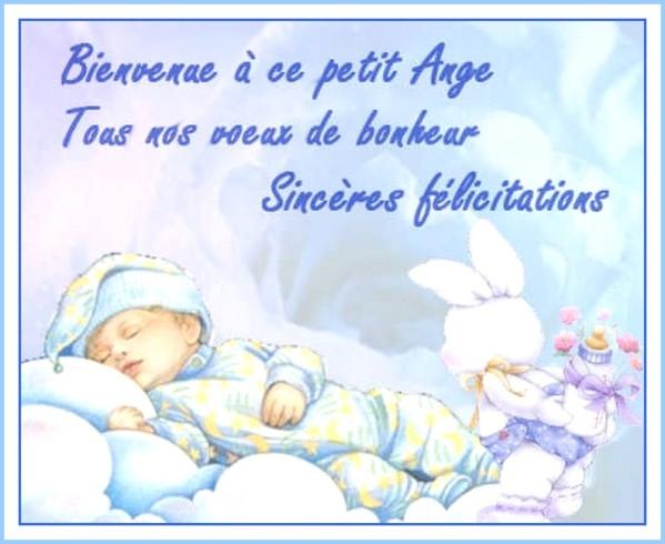 lettre felicitation pour naissance d'un bebe