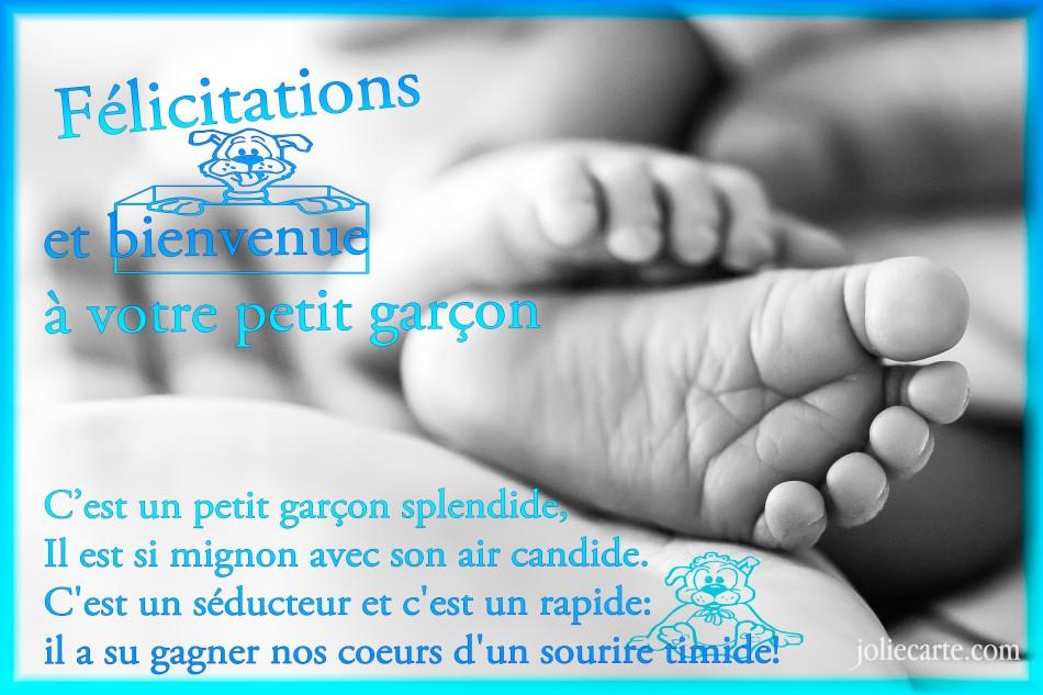 lettre felicitation pour naissance d u0026 39 un bebe