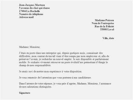 lettre garantie