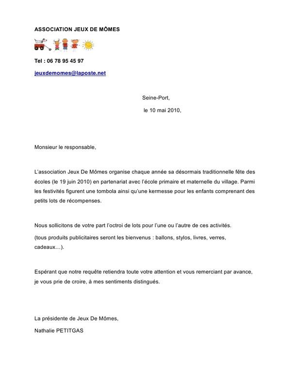 lettre gratuite de demande de logement