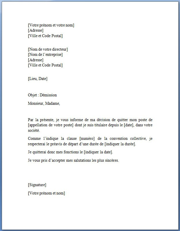 lettre je soussigne autorise - Modele de lettre type