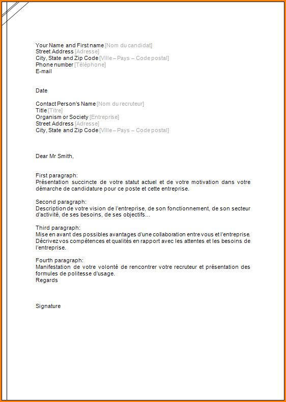 lettre de motivation pour laposte