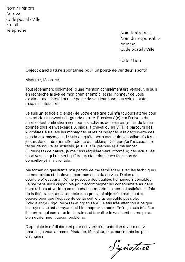 lettre motivation immobilier