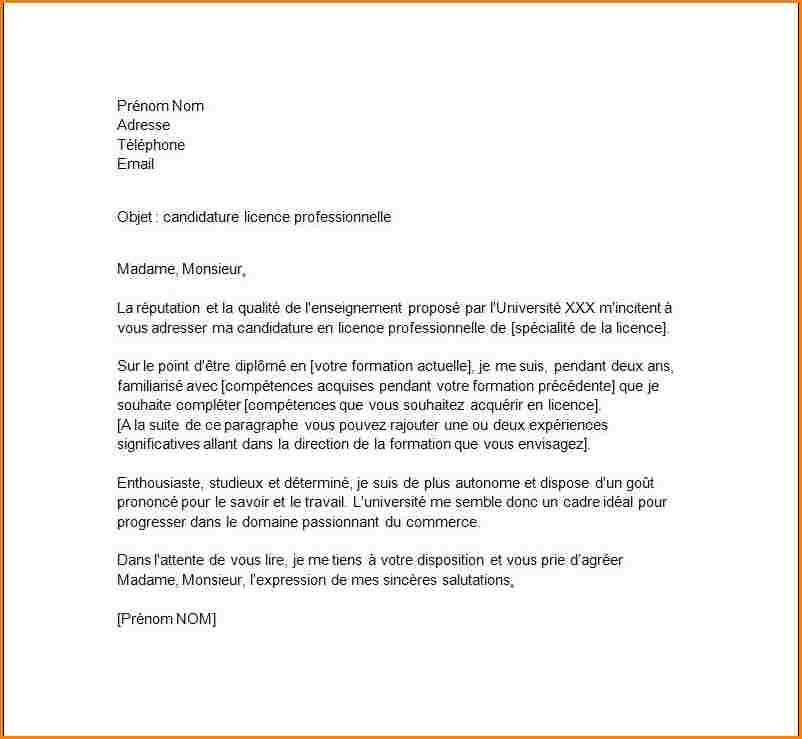 lettre motivation secretaire sans experience