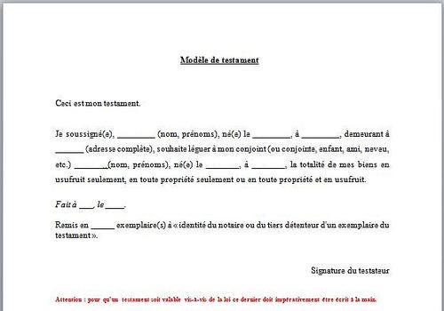 lettre procuration signature