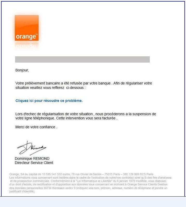 lettre reclamation orange - Modele de lettre type