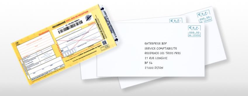 lettre recommandee remboursement - Modele de lettre type
