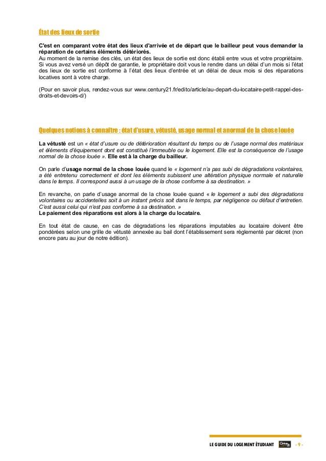 lettre resiliation bail location etudiant