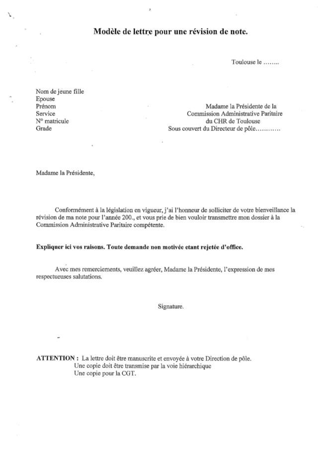 lettre revalorisation salaire