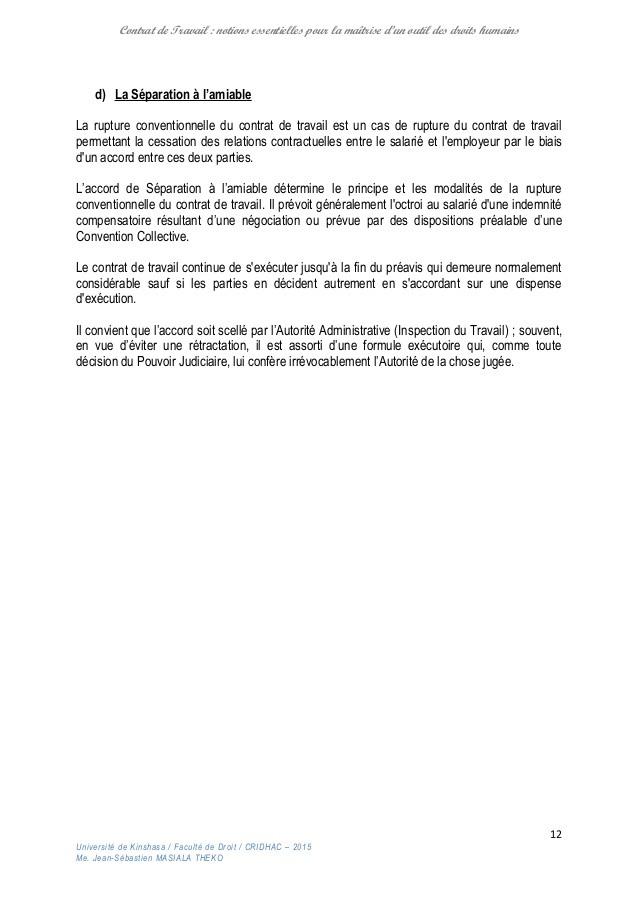 lettre rupture de contrat cdd