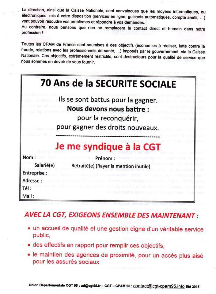 lettre securite sociale