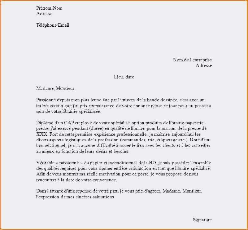 lettre type 6.001