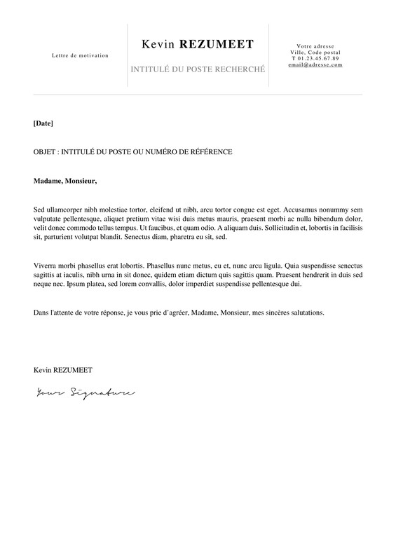 lettre type nuisance voisinage