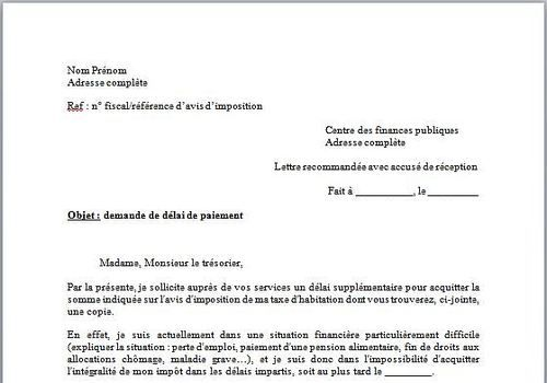 model de lettre de demande d'emploi gratuit
