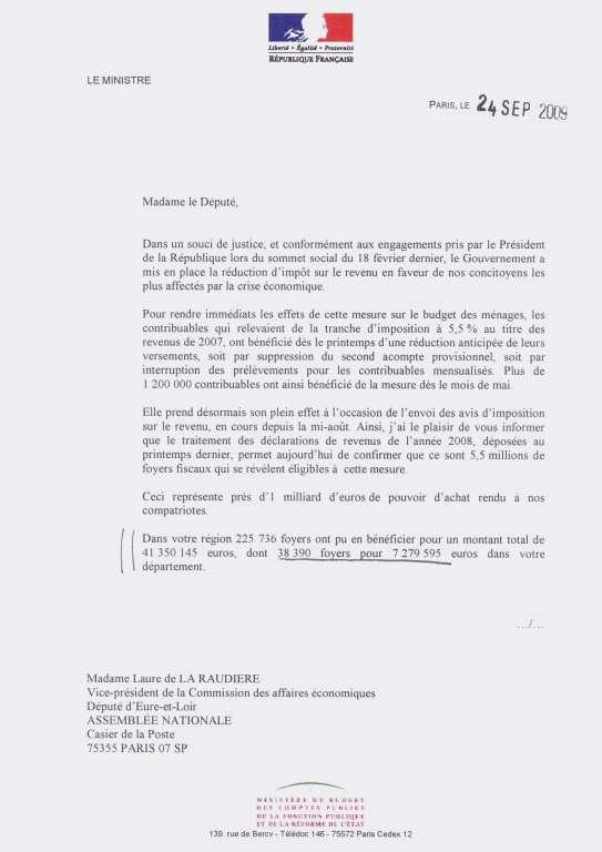 model lettre d opposition