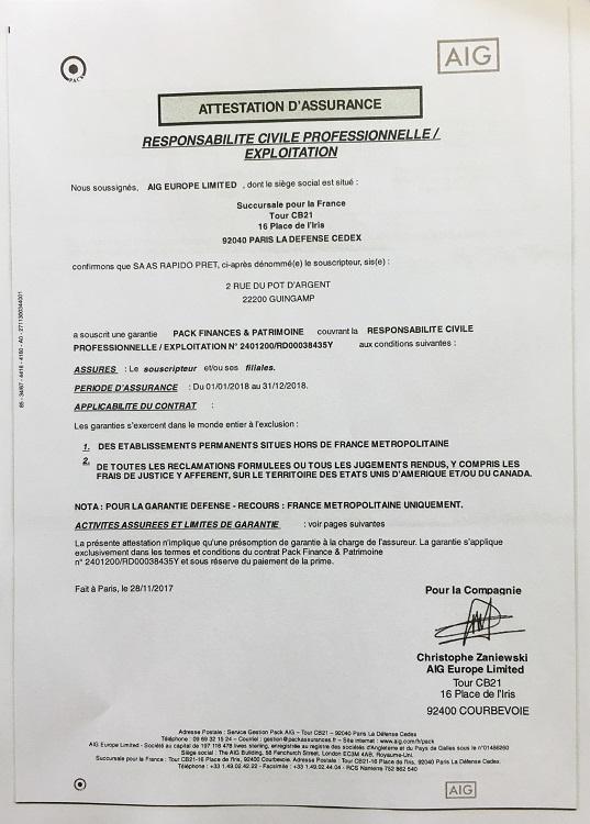 modele attestation de pret d u0026 39 argent
