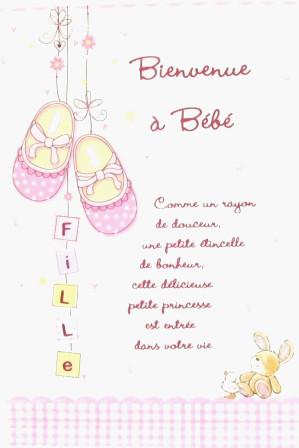 modele carte felicitation naissance