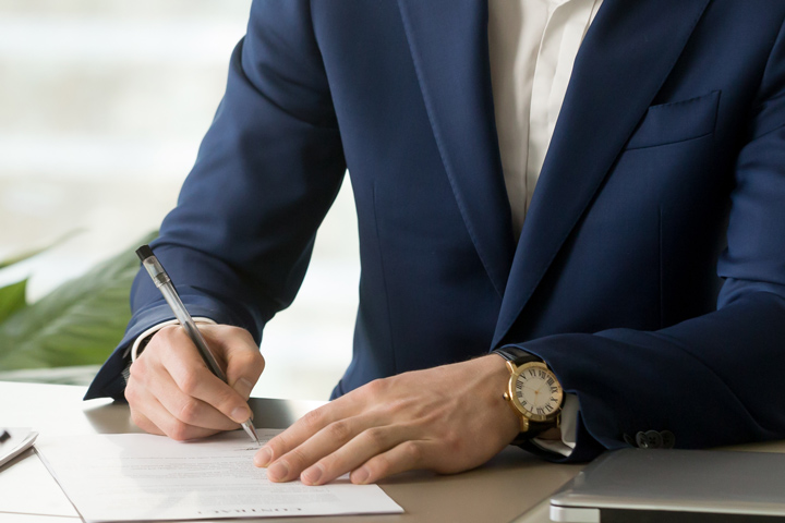 modele courrier de resiliation contrat