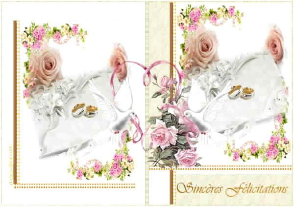 modele de carte d u0026 39 invitation pour mariage gratuite