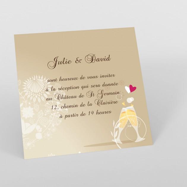 modele de carte d'invitation pour mariage gratuite