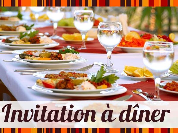 modele de carte d invitation pour un repas