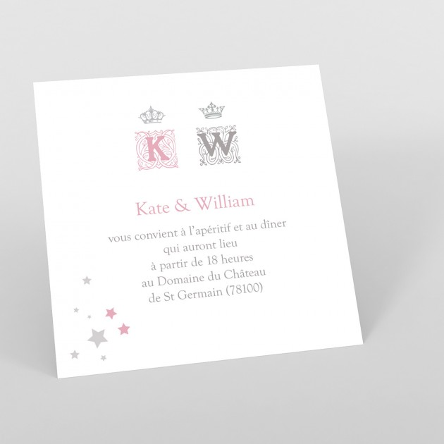 modele de carte de mariage invitation