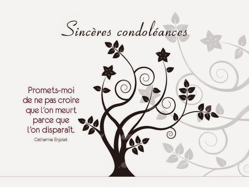 modele de condoleance gratuit