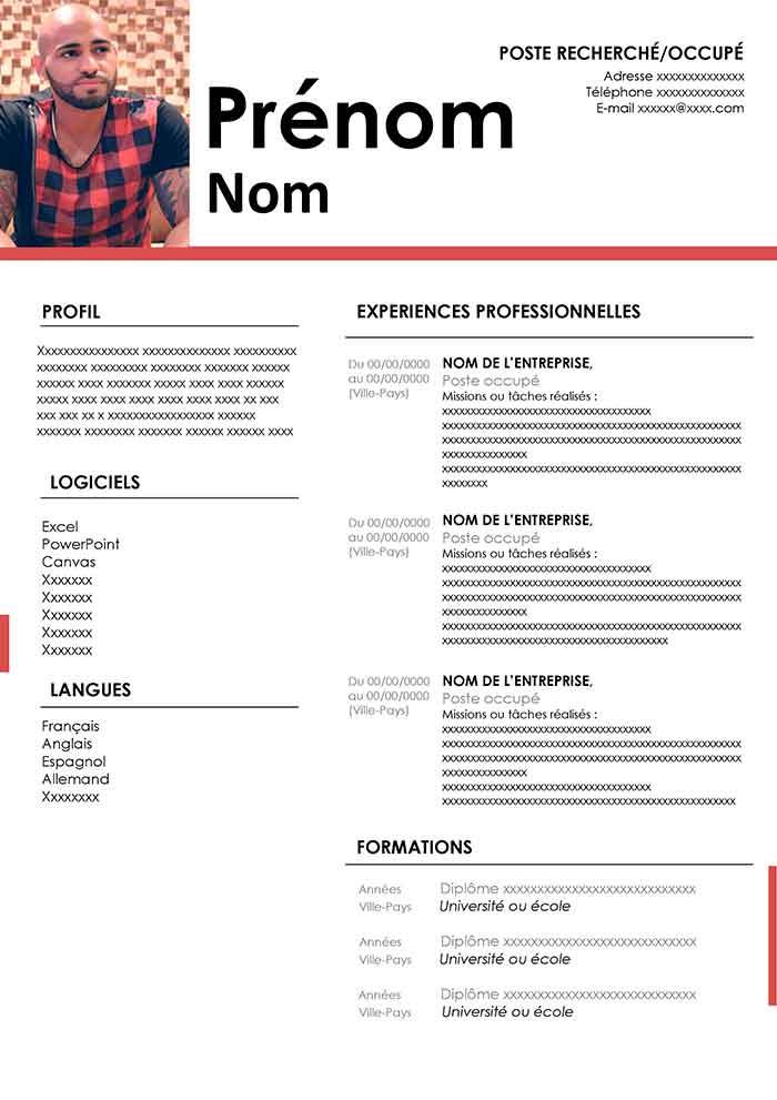 modele de curriculum vitae