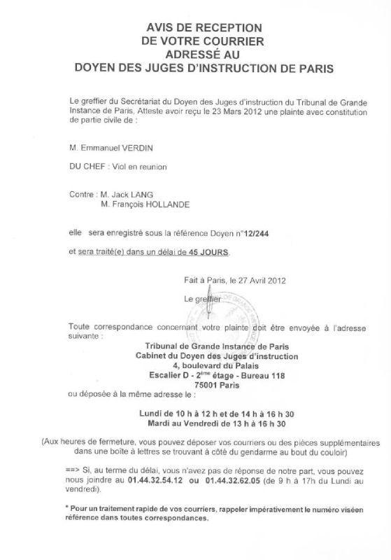Modele De Lettre Au Juge Des Affaires Familiales Modele De Lettre Type
