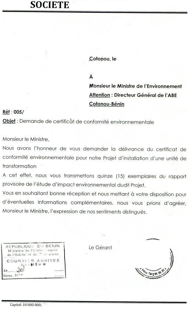 modele de lettre d'autorisation de retrait de colis ...